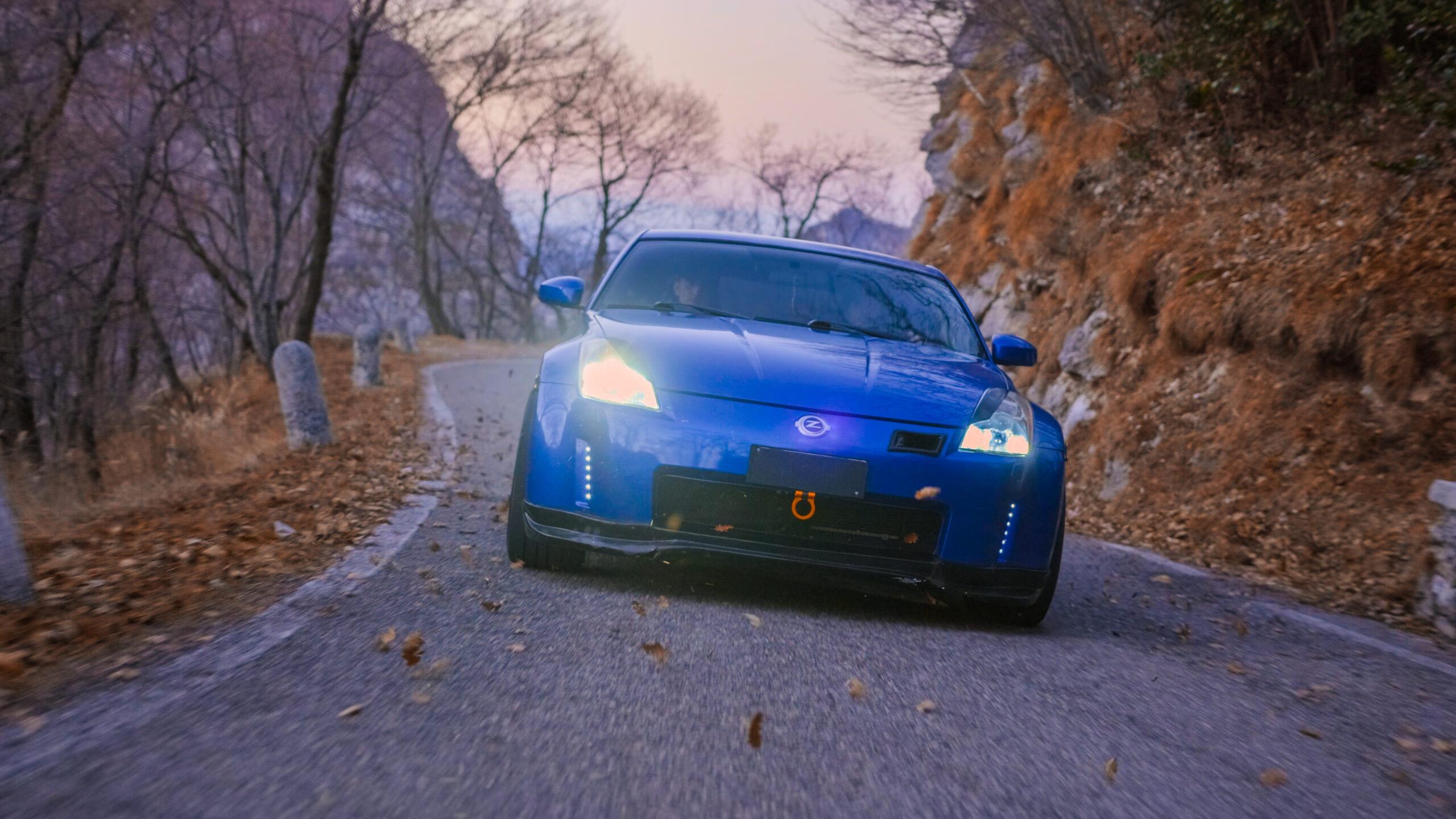 Japan racing, Lecco, Morterone, Matteo Colombo, automobile, Nissan 350z